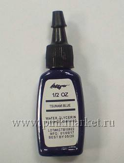 Тату краска Kuro Sumi Tsunam Blue 15ml