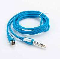 Провод EZ-MCC RCA/Jack*6.3mm BLUE