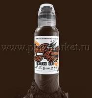 "Тату краска World Famous ""Dark Chocolate"" 60 мл"