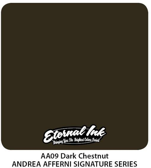 Тату краска Eternal Ink Dark Chestnut 15 мл