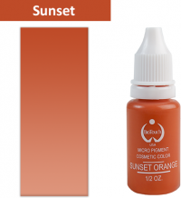 Пигмент BioТouch Sunset Orange 15ml (желтая основа)
