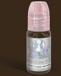 "Пигмент для татуажа бровей Perma Blend ""Dark Forest Brown"""