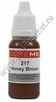 Пигменты для татуажа бровей Doreme 217 Honey Brown
