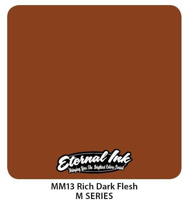 Тату краска Eternal Ink Rich Dark Flesh 30 мл