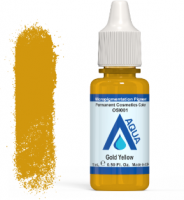 Пигмент AQUA Gold Yellow 15ml