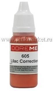 Пигмент для татуажа Doreme 605 - LILAC CORRECTION /корректор/
