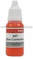 Пигмент для татуажа Doreme 607- BLUE CORRECTION /корректор/