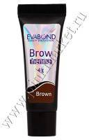 Хна для биотатуажа бровей EVABOND, Brown /Коричневая/, 4гр Р530-01-03