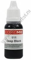 Пигменты для татуажа век Doreme 111 Deep Black