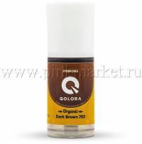 Пигмент для бровей Qolora Organic Dark Brown 703