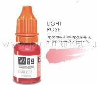 Пигмент для татуажа губ WizArt Light Rose, 10 мл