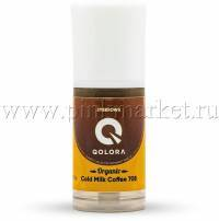 Пигмент для бровей Qolora Organic Gold Milk Coffee 708 (истекает срок)