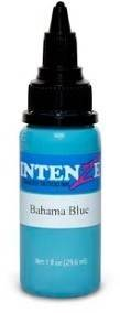 Тату-краска INTENZE BAHAMA BLUE (США), 15 мл