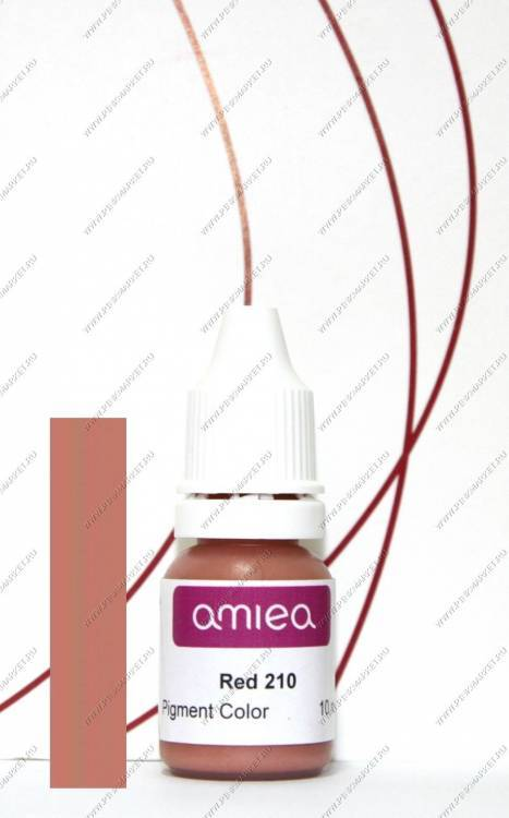 Red 210A гелевый пигмент 10 мл Amiea / Crème Rose