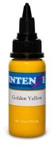 Тату-краска INTENZE GOLDEN YELLOW (США), 15 мл