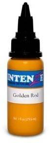 Тату-краска INTENZE GOLDEN ROD (США), 30 мл