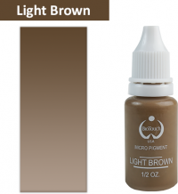 Пигмент BioТouch Light Brown 15ml (желтая основа)