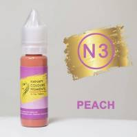 Пигмент для губ Hanafy Colours Pigments №3 Peach 15 мл