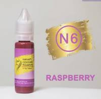 Пигмент для губ Hanafy Colours Pigments №6 Raspberry 15 мл