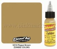 Тату краска Eternal Ink Plague brown 15 мл