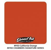 Тату краска Eternal CALIFORNIA ORANGE 15 мл