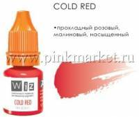 Пигмент для татуажа губ WizArt Cold Red, 5 мл