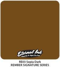 Тату краска Eternal Sepia Dark 30 мл