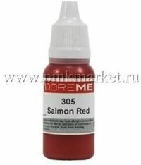 Пигмент для татуажа губ Doreme 305 SALMON RED